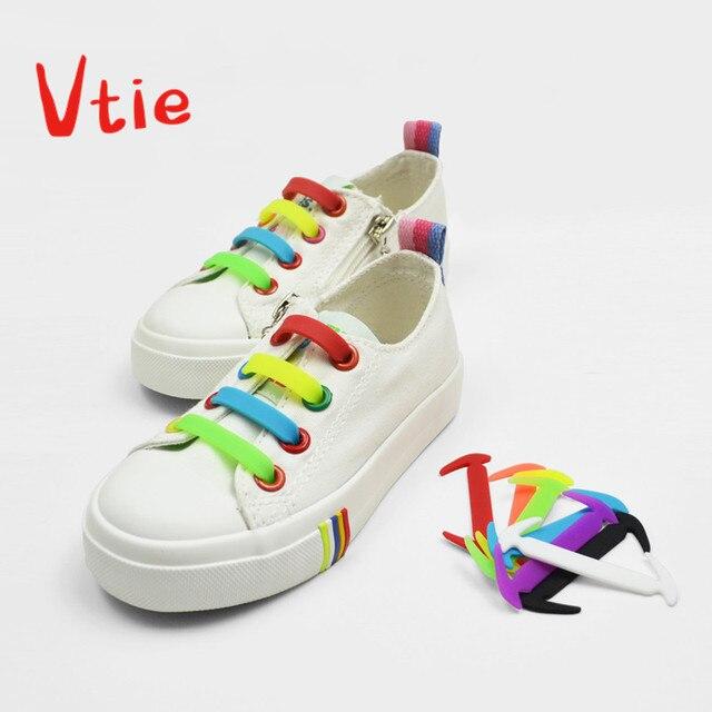 eb3699577e8fa Zapatos para Niños Accesorios cordones para zapatos sin necesidad de  cordones elásticos de silicona cómodos 12