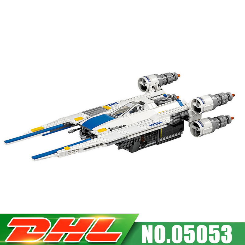 679pcs DHL Fast Shipping Lepin 05054 Genuine UCS Series The Rebel U-Wing Fighter Set Building Blocks Bricks Toys with 75155