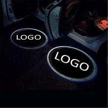 JingXiangFeng 2 шт. для Lexus чехол для ford логотип автомобиля интерьерные огни Добро пожаловать Дверь Призрак Тень лампы В 12 В для subaru Предупреждение