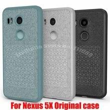 Оригинальный кожаный чехол для LG Nexus 5X 6P, официальная задняя крышка для LG Google Nexus5X, чехол из ТПУ и кожи с розничной коробкой, оптовая продажа
