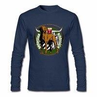 Rhodesian Ridgeback Dog Male Hip Hop T Shirts Men S Long Sleeve Tshirt Teenage O Neck