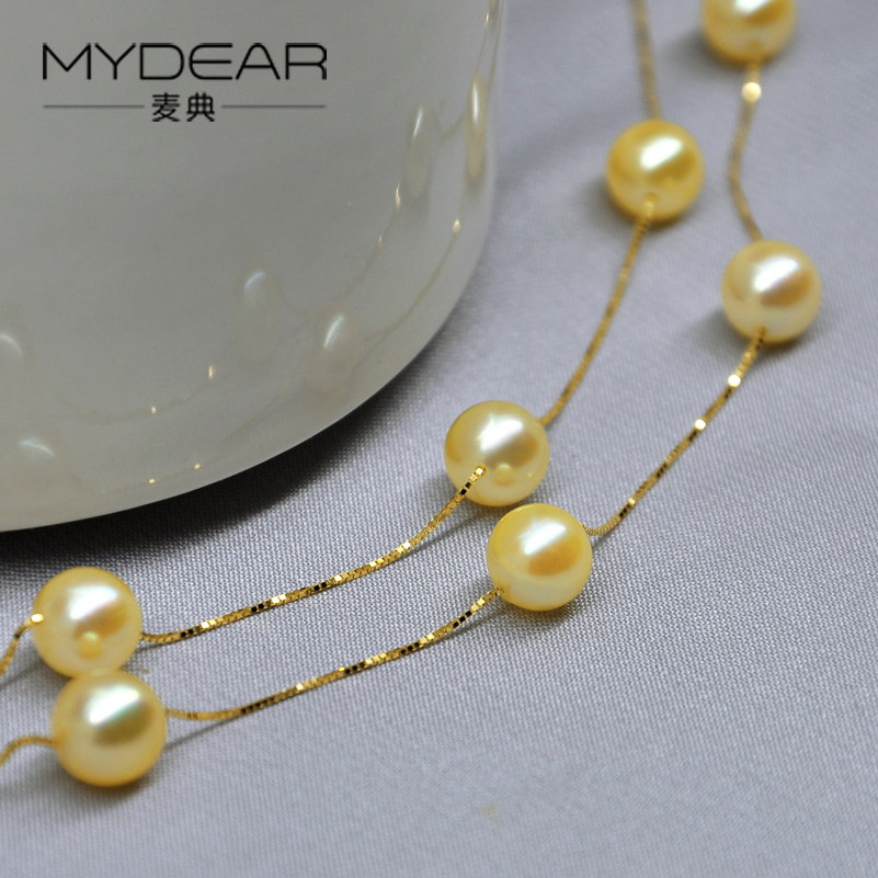 Stunning Pearl Necklace Designs In Gold Ideas - Jewelry Collection ...