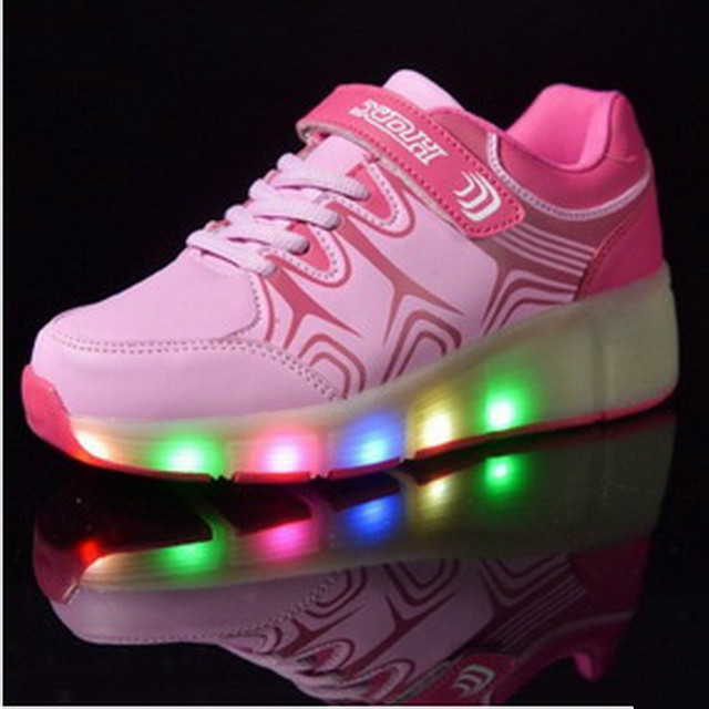 Glowing Sneakers Kids 2017 New High Quality Children Superfly Cheap Led Sport Shoes For Boy And Girls Shoes China