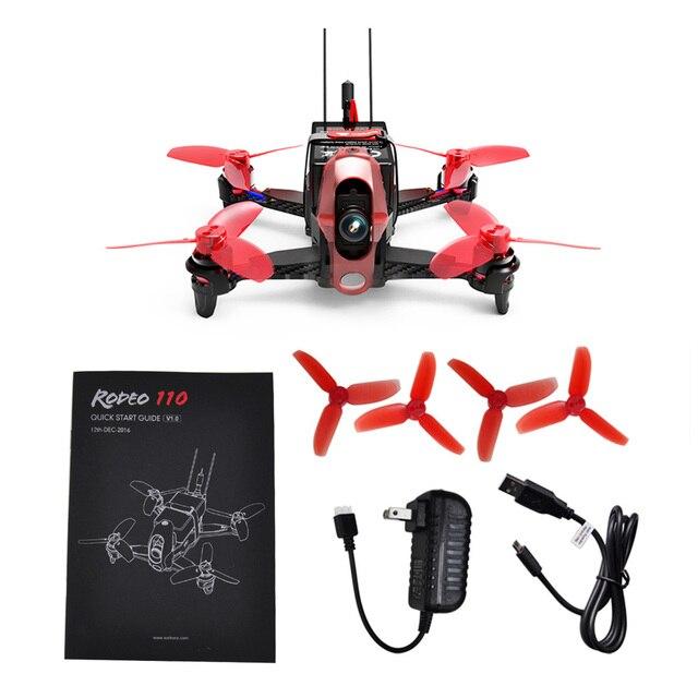 14e8efcba Walkera Rodeo 110 RC FPV Mini Quadcopter Racing Drone RTF 600TVL Camera  Goggle2 Goggle4