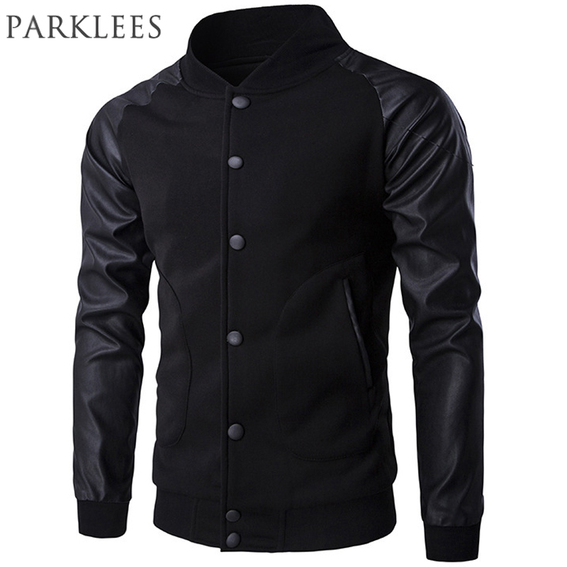 High Quality Leather Bomber Jackets Boys Promotion-Shop for High ...