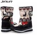 2016 женщин сапоги зимние хорошие продажи женщин снега сапоги женские водонепроницаемые супер теплые зимние ботинки 04