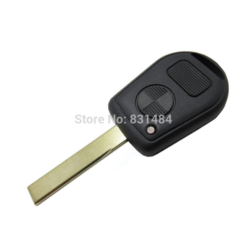 2 Buttons Car Key Case Shell Cover Remote Blank Key Replacement For BMW E38 E39 E36 Z3