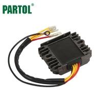 Partol 12V Motorcycle Voltage Regulator Rectifier Replacement For Suzuki GS 450 GS850GL GS 1000S GSX 1100