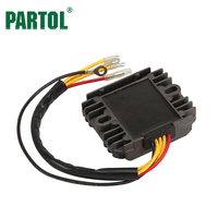 Partol 12V Motorcycle Voltage Regulator Rectifier Replacement For Suzuki GS 450 GS850GL GS 1000S GSX 1100