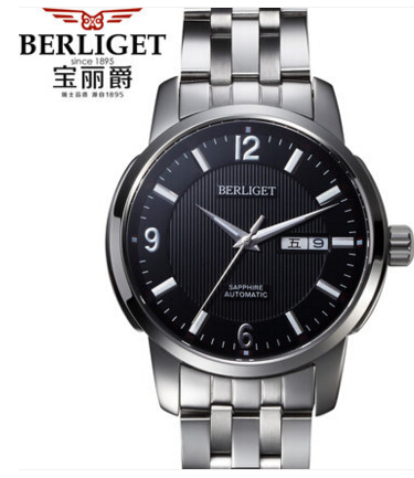 Automatic mechanical watch 50M water  BERLIGET wristwatches mens Automatic mechanical watch