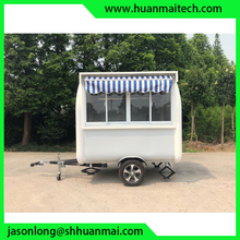 Mobile Food Trailer Catering Thailand Rolled Ice Cream
