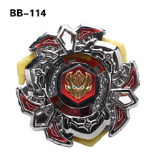 1pc Beyblade Metal Fusion 4D Bottom D D BB114 With Launcher Spinning Top Christmas Gift For