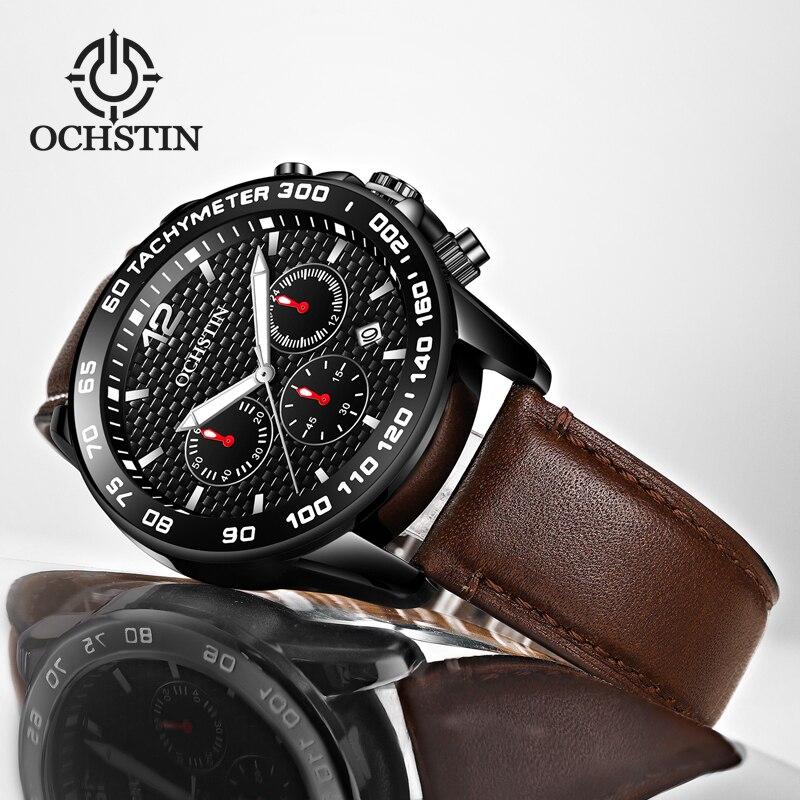 OCHSTIN Relojes Hombre Watch Men Fashion Sport Quartz Clock Mens Watches Top Brand Luxury Business Watch Relogio Masculino