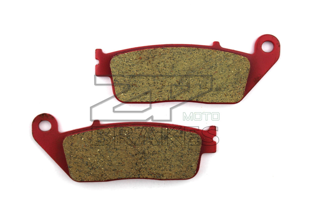 Motorcycle Parts Brake Pads Fit HONDA ST 1100 Pan European 1990-2002 Front OEM New Red Carbon Ceramic Free shipping motorcycle brake pads ceramic composite for triumph 800 tiger 2011 2014 front rear oem new high quality zpmoto