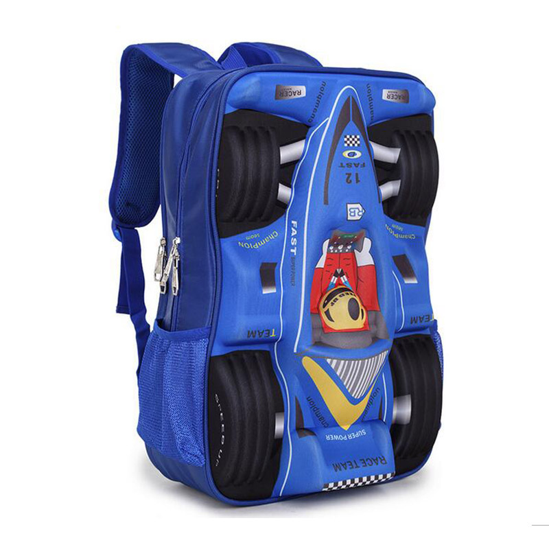 5505ef2f3a For 2018 3D Car School Bag EVA Cool Boy School Bags Kid Backpack Children  School Backpack -in School Bags from Luggage   Bags on Aliexpress.com