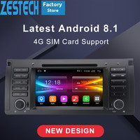 ZESTECH 1 din android Car radio dvd multimedia player For BMW E39 X5 E53 support bmw carplay autoRadio stereo car GPS headunit