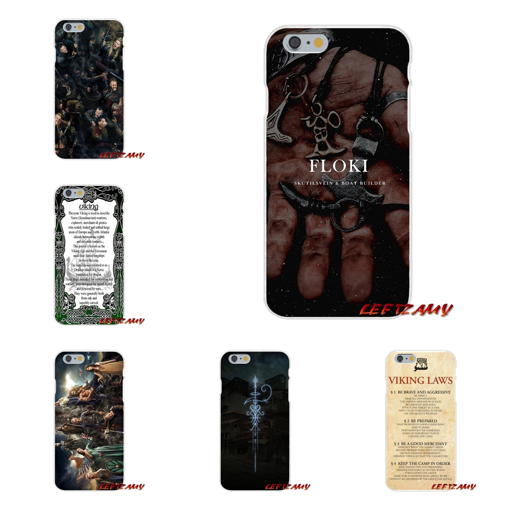 Ragnar Vikings Season 3 TV Logo Slim Silicone phone Case For Samsung Galaxy S3 S4 S5 MINI S6 S7 edge S8 S9 Plus Note 2 3 4 5 8