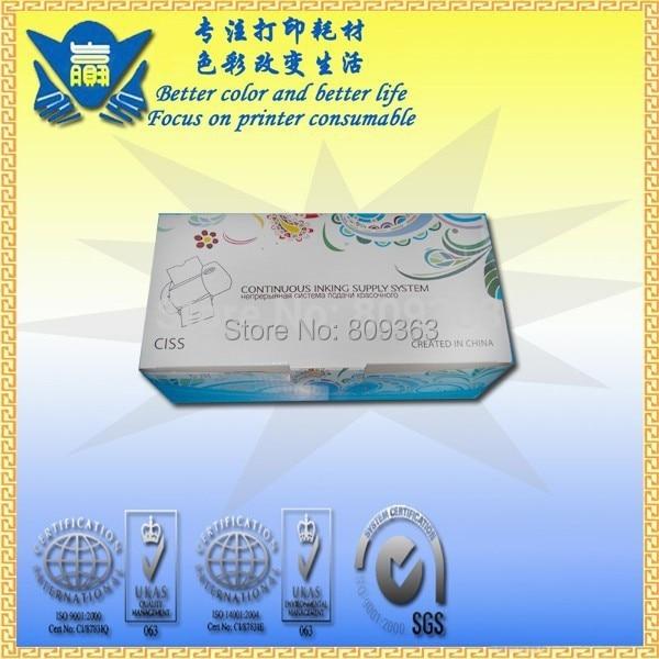 Система непрерывной подачи чернил для HP816 817 Система непрерывной подачи печатных красок для использования с чернилами hp Deskjet D2360 D2368 3538 3558 3658 3668 5168 5652