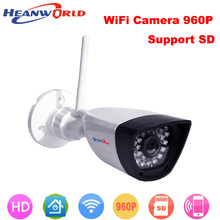 960P IP camera wifi CCTV Webcam wireless Network Surveillance Security Camera 30LED support smartphone view micro SD card slot