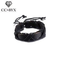 Black/Brown Color Viking Bracelets for Women Men Daily adjustable Fashion Jewelry Gifts Accessories Bijoux Unisex Bracelet SH030