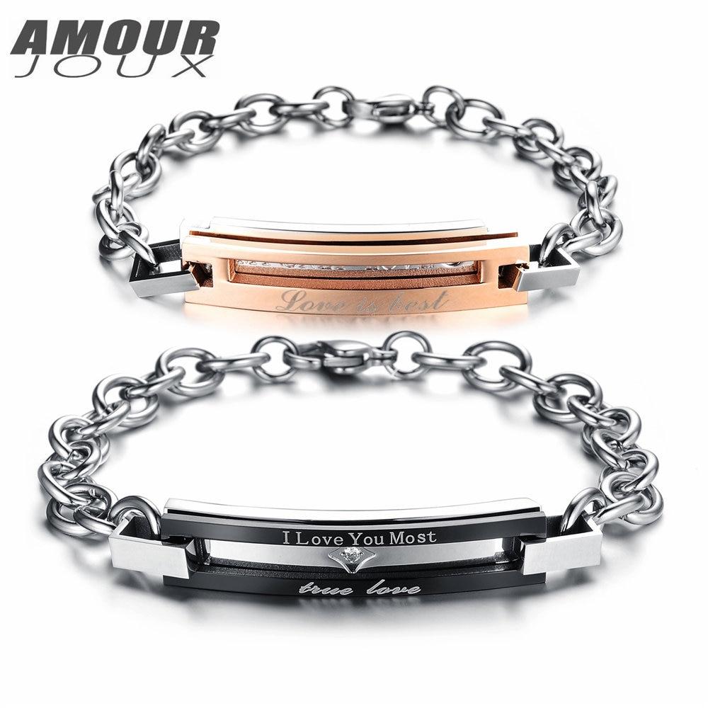 Engraved Charm Bracelets