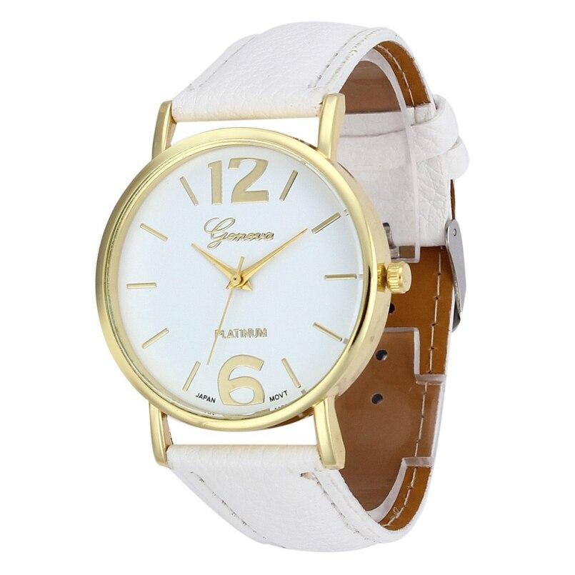 Excellent Quality 2016 New Geneva Quartz Watches WomensRelogios Femininos Casual Dress Watches Rhinestone Analog Quartz Watch