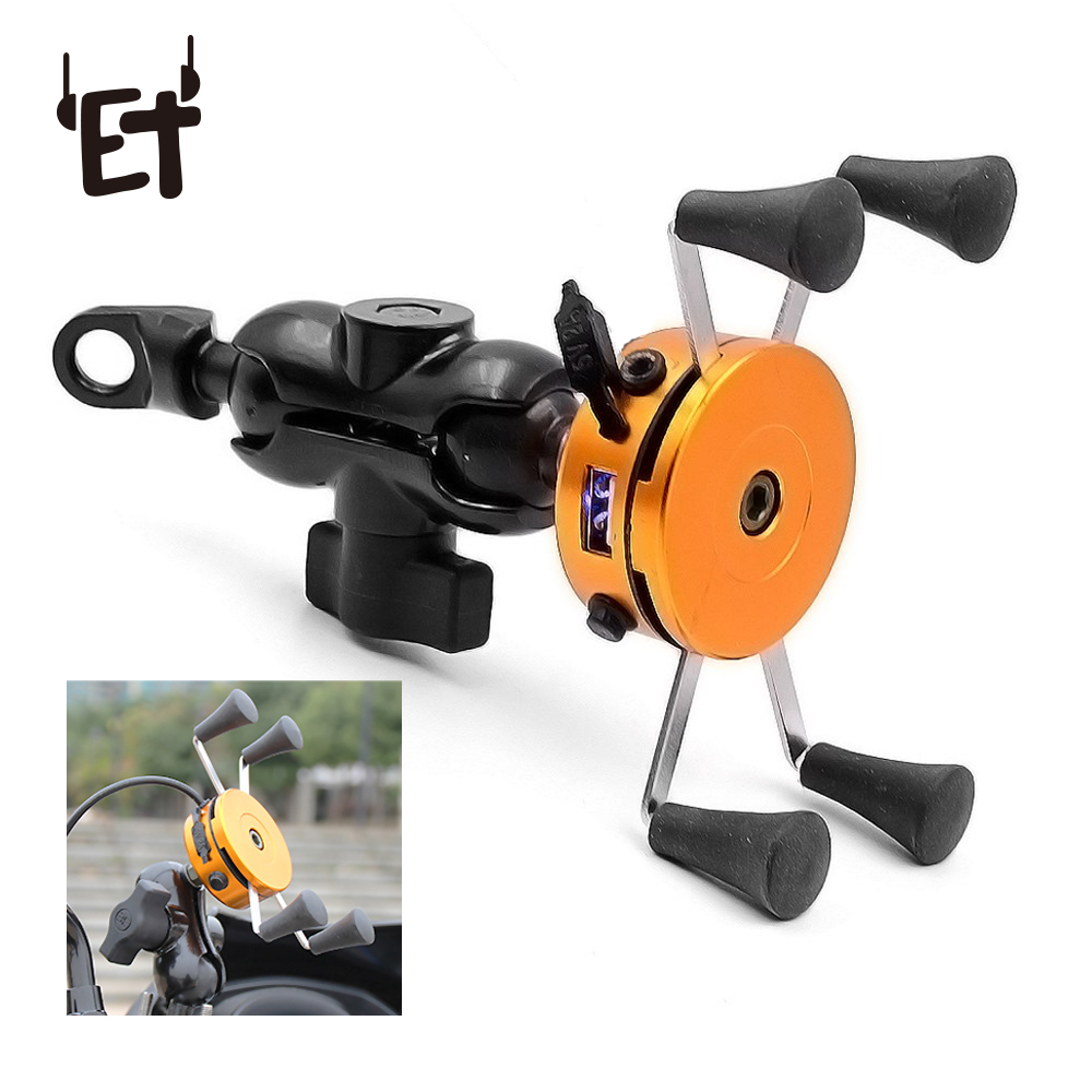 Bicycle Phone Holder Universal Bike Otorcycle Handlebar Clip Stand Mount Cell Phone Holder Bracket For IPhone