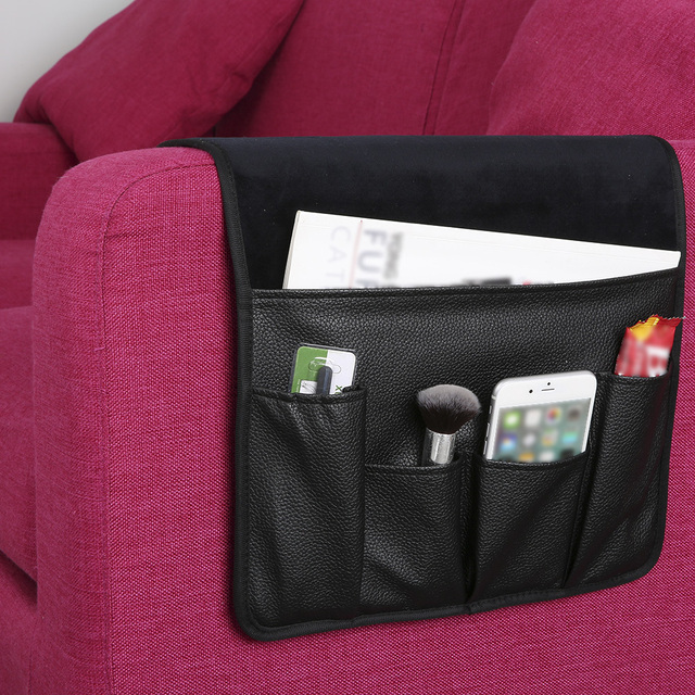 Remote Sofa Couch Chair Armrest Soft Storage Organizer Holder for Cell Phone iPad Snacks Arm Rest & Remote Sofa Couch Chair Armrest Soft Storage Organizer Holder for ...