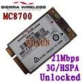 Sierra Wireless Airprime Mc8700 Pci-e Hspa 21 mbps de Alta velocidad 2g/3g/4g desbloqueado Para El Ordenador Portátil de Escritorio Del Servidor Interno