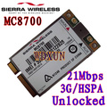 Sierra Wireless Airprime Mc8700 Pci-e Hspa + 21 mbps de Alta-velocidade 2g/3g/4g desbloqueado Para O Portátil Do Desktop Do Servidor Interno