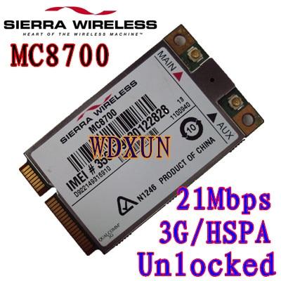 Sierra Wireless Airprime Mc8700 Pci-e Hspa + 21mbps Υψηλής ταχύτητας 2g / 3g / 4g Ξεκλειδωμένο για φορητό υπολογιστή Desktop Εσωτερικό