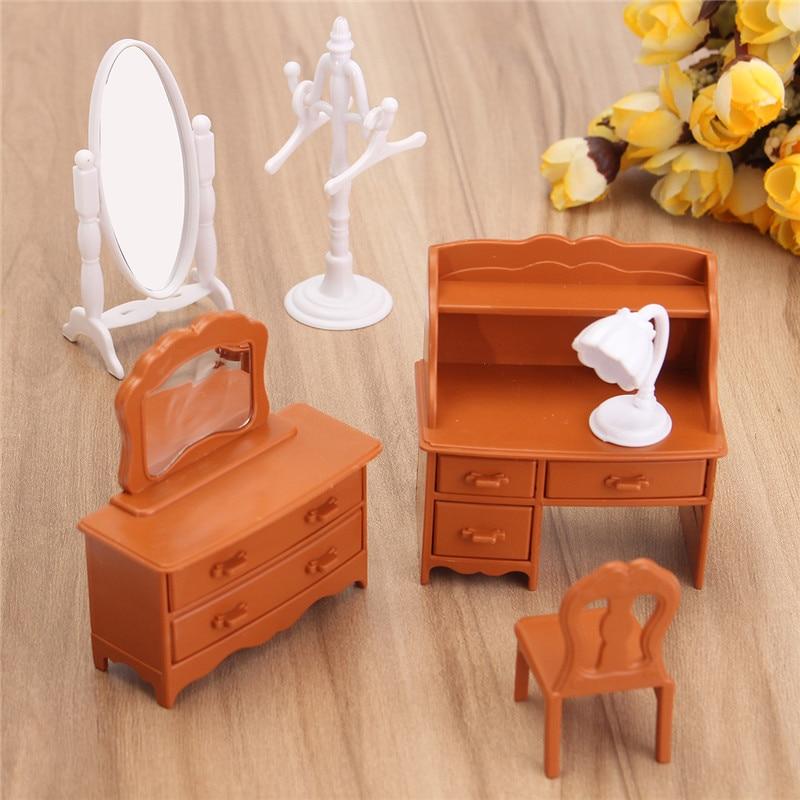 New-Vintage-Miniature-Bedroom-Furniture-Set-Dresser-Desk-Mirror-Furniture-Toys-Set-for-Kids-Christmas-Gift-Dollhouse-Accessories-1