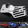 For YAMAHA YZF R3 YZF R25 YZF-R3 YZF-R25 2014-2015 Motorcycle Accessories Coolant Recovery Tank Shielding Protector Cover Silver