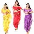 6 colores nuevo 2015 mujeres 5-Pieces-Set espectáculo de Danza Del Vientre Costome india Bollywood Dancing ropa Danza Del Vientre LD058