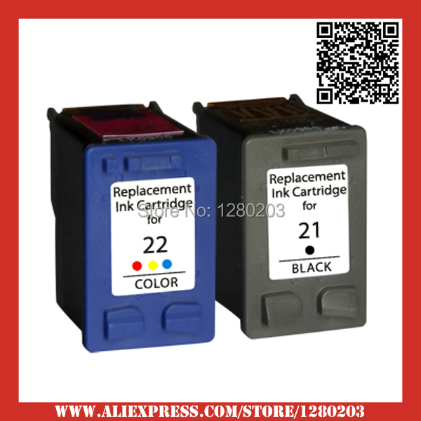 1set ink cartridge for hp 21 22 for hp deskjet 3915 3920 d1530 d1320 d1311 d1455 f2100 f2280. Black Bedroom Furniture Sets. Home Design Ideas