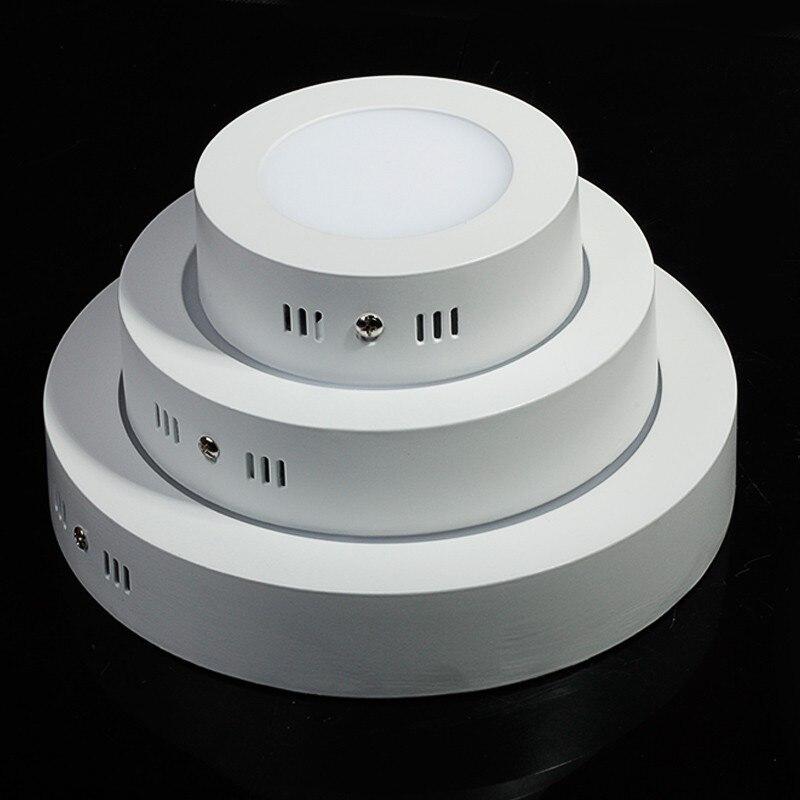 LED Surface Lumière 9 W 15 W 25 W LED Plafond Downlight WW-3000K NW-4000K CW-6000K AC85-265V Surface LED Panneau D'éclairage lampe