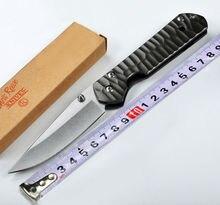 Folding Knife  CR Pocket Knife 440C Blade Steel Handle Survival Knives Hunting Tactical Knifes Camping Outdoor Tools K