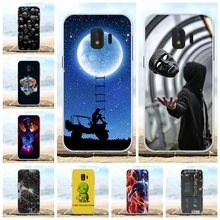 For Samsung Galaxy J2 Core Case Soft TPU J260F J260M Cover Beach Patterned Bag