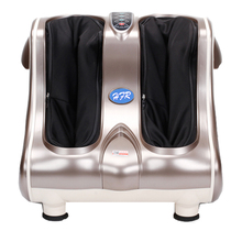 HFR-8813 Carbon 3D Shiatsu Vibrating Rolling Massage Fiber Luxury Leg Foot Massager
