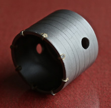 Free shipping of professional 80 72 M22 carbide tipped wall hole saw for air condtiional holes
