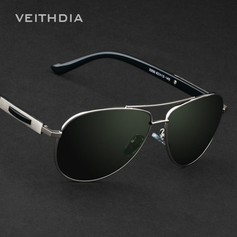VEITHDIA Classic Designer Mens Sunglasses Polarizerd Vintage Sun Glasses Eyewear Accessories gafas oculos de sol For Men VT3250 Lahore