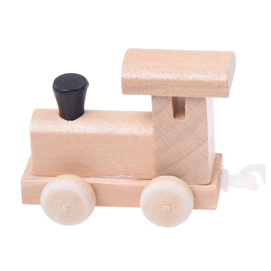 New Wooden Toys Digital Figures Number Railway Train Childrens Educational Toys