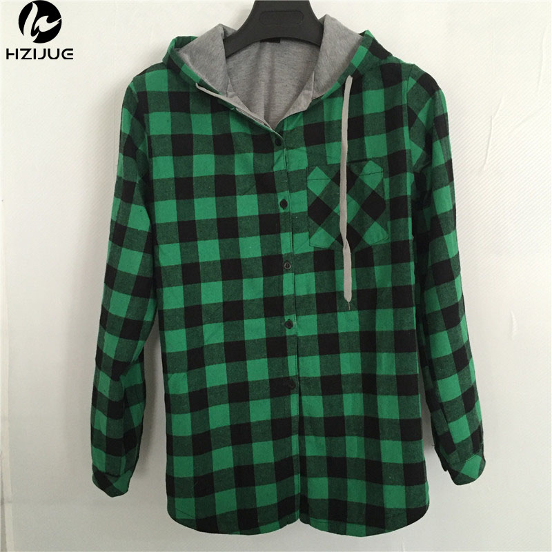 HZIJUE New Kanye West Hip hop Plaid Shirt Տղամարդկանց High Street Fashion Swag Հագուստ չամրացված Hipster Longline HOOD Chemise S-XXL