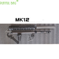 MK12 SPR FFRAS Fishbone standard Parts toy water bullet gun refit and Upgrading Accessories Khublaily Case Jinming9 OJ34