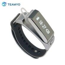 Новый 2016 Оригинал talkband K2 умный браслет bluetooth двойного режима сна монитор Спорт SmartWatch band телефон Mate