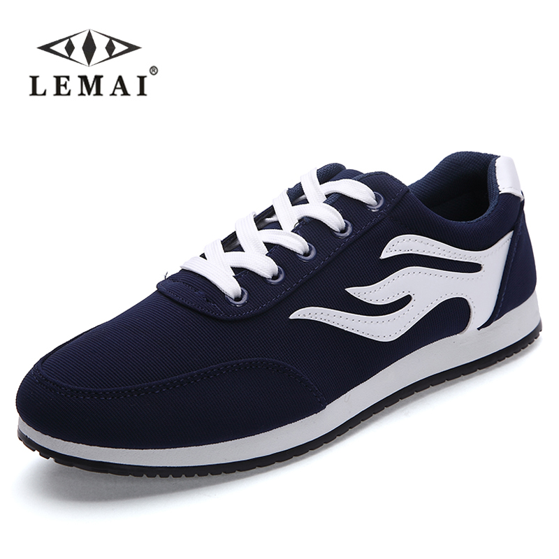 LEMAI Mens Casual Trainers Shoes 2016 New Breathable Summer Shoes For Man Walking Shoes Breathable Casual Net Mens Shoes