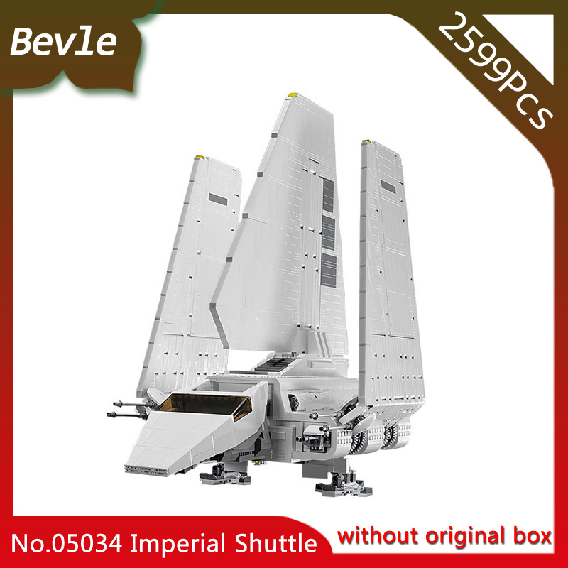 Bevle Store LEPIN 05034 5265Pcs Star Wars Series Imperial Shuttle Machine Model Building Blocks Bricks For Children Toys 10212 lepin 22001 pirate ship imperial warships model building block briks toys gift 1717pcs compatible legoed 10210