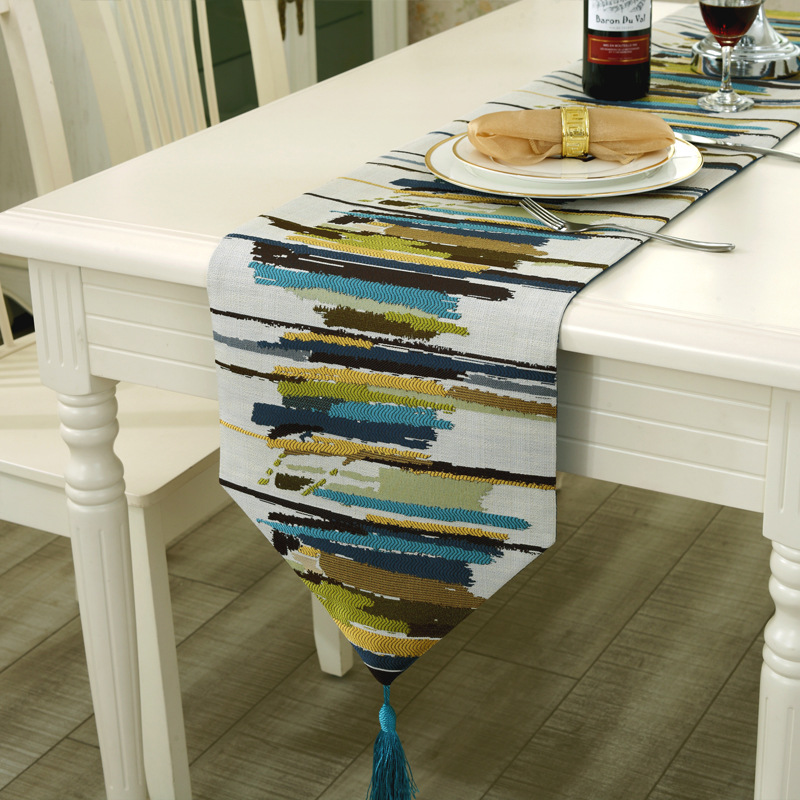 popular modern table runners buy cheap modern table runners lots from china modern table runners. Black Bedroom Furniture Sets. Home Design Ideas