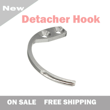 Super EAS Detacher Hook Key New Magnetic Remover Hook Security Tag Remover Clothing Hard Tag Detacher Free Shipping EAS System