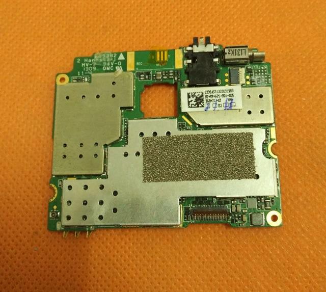Используется Оригинальная плата 1 Г RAM + 4 Г ROM Материнская Плата для HTM H7189 MTK6589 Quad Core бесплатная доставка